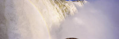 Floodwaters At Iguacu Falls, Brazil Poster by Panoramic Images