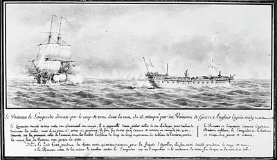 French Squadron, 1778 Poster