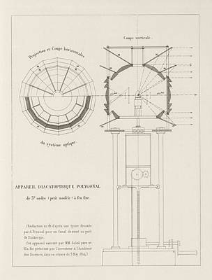 Fresnel On Lighthouse Lenses Poster by King's College London