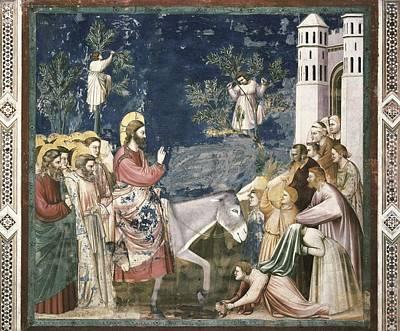 Giotto Di Bondone 1267-1337. Scenes Poster by Everett