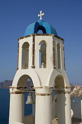 Greece, Santorini, Thira, Oia Poster by Jaynes Gallery