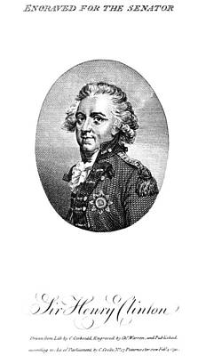 Henry Clinton (1738-1795) Poster by Granger