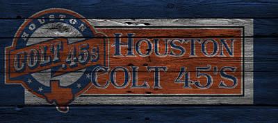 Houston Colt 45s Poster by Joe Hamilton