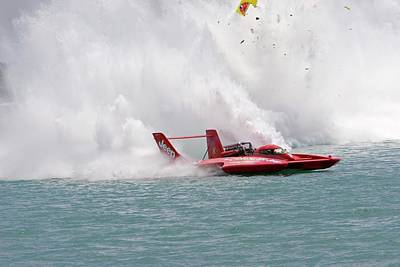 Hydroplane Racing Poster by Jim West