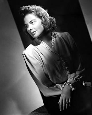 Ingrid Bergman Poster