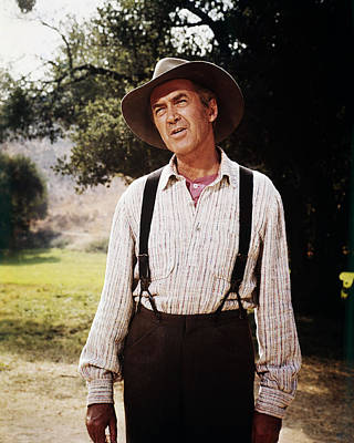 James Stewart In Shenandoah  Poster by Silver Screen