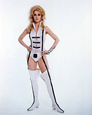 Jane Fonda In Barbarella  Poster by Silver Screen