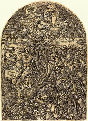 Jean Duvet, French 1485-c Poster