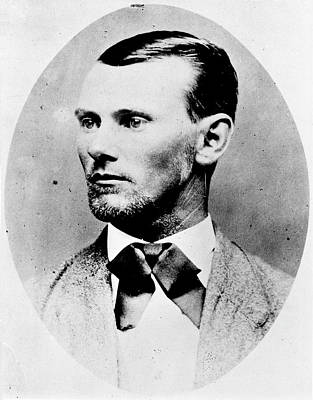 Jesse James (1847-1882) Poster by Granger