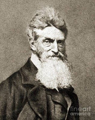 John Brown, American Abolitionist Poster by Photo Researchers