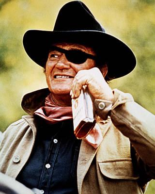 John Wayne In True Grit  Poster by Silver Screen