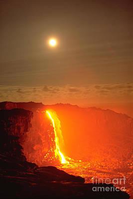 Kilauea Volcano Poster by Stephen & Donna O'Meara