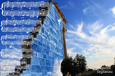 Kourion-apollo Sanctuary Poster