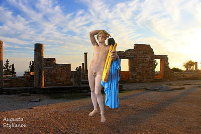 Kourion-temple Of Apollo Poster