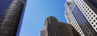 Low Angle View Of Skyscrapers Poster by Panoramic Images