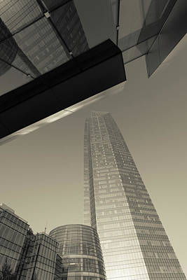Low Angle View Of The Devon Tower Poster
