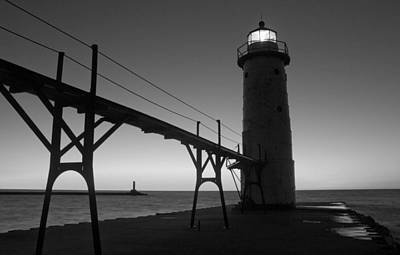 Manistee Lighthouse Poster by Twenty Two North Photography