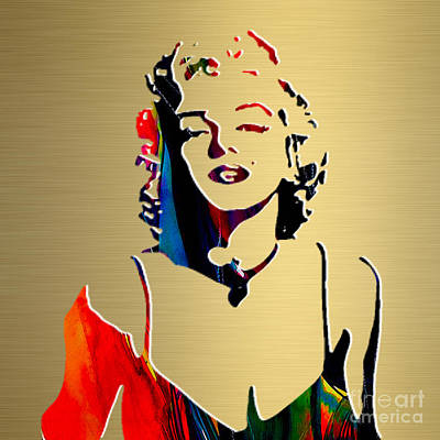 Marilyn Monroe Gold Series Poster