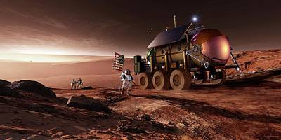 Mars Exploration Poster