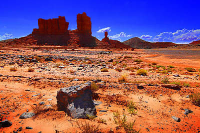Monument Valley Utah Usa Poster by Richard Wiggins