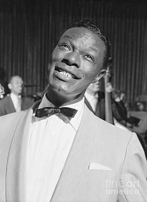 Nat King Cole 1954 Poster by The Harrington Collection