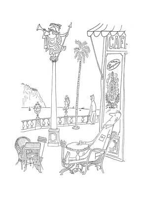 New Yorker July 29th, 1944 Poster by Saul Steinberg