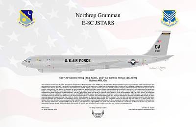 Northrop Grumman E-8c Jstars Poster