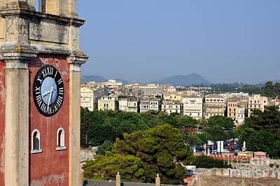 Old City Of Corfu Poster by George Atsametakis