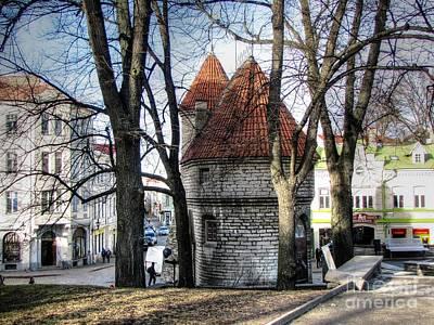Old Tallinn Estonia Poster by Yury Bashkin