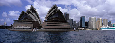 Opera House At The Waterfront, Sydney Poster by Panoramic Images