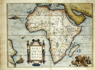 Ortelius, Abraham 1527-1598. Theatrum Poster
