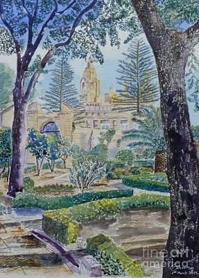 Palazzo Parisio Naxxar Malta Poster