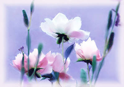 Pastel Petals Poster by Jessica Jenney