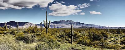 4 Peaks Panoramic View Poster