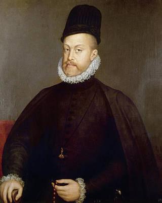 Philip II Of Spain (1527-1598) Poster by Granger
