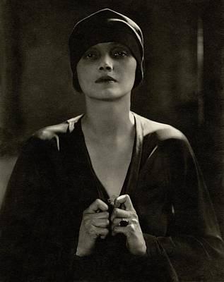 Portrait Of Katharine Cornell Poster