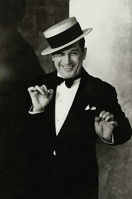 Portrait Of Maurice Chevalier Poster