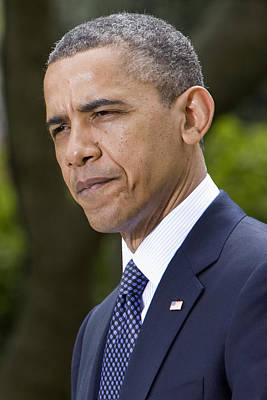President Obama Poster by JP Tripp