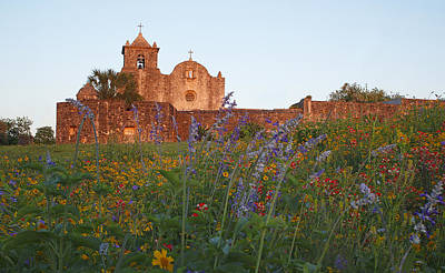 Poster featuring the photograph Presidio La Bahia 2 by Susan Rovira