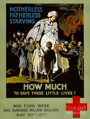 Red Cross Poster, 1917 Poster by Granger