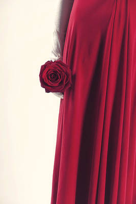 Red Rose Poster by Joana Kruse