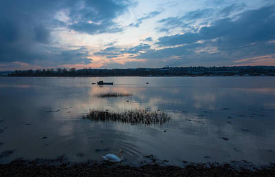 River Medway Sunset Poster by Dawn OConnor