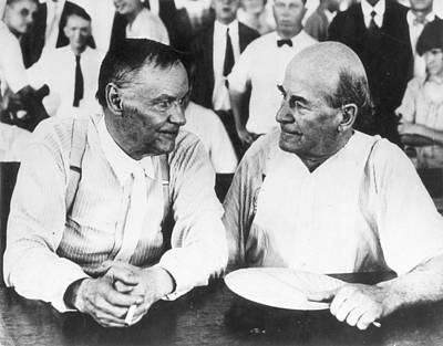 Scopes Trial, 1925 Poster by Granger