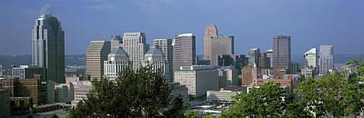 Skyscrapers In A City, Cincinnati Poster by Panoramic Images