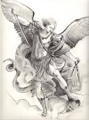 St. Michael Poster by Archangelus Gallery