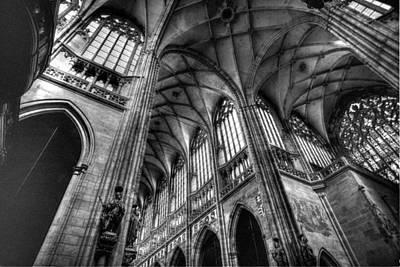 St Vitus Cathedral Prague Poster