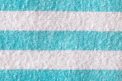 Striped Cloth Poster