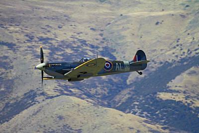 Supermarine Spitfire  -  British Poster