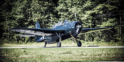 Tbm Avenger From Texas Flying Legends Poster by Dave Cleaveland
