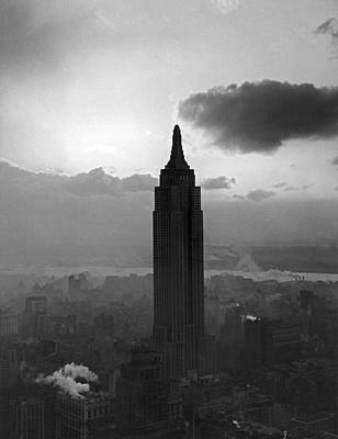 The Empire State Building Poster by Underwood Archives